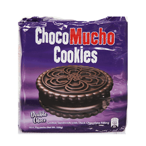 Choco Mucho Cookies White 10s
