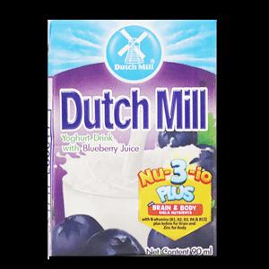 Dutch Mill Yoghurt Drink Blueberry 90ml