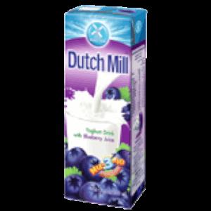 Dutch Mill Yoghurt Drink Blueberry Juice 180ml