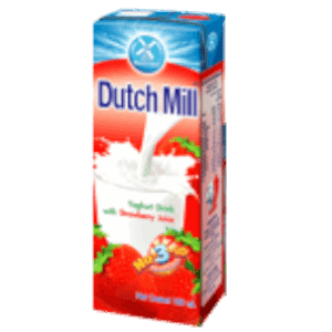 Dutch Mill Yoghurt Drink Strawberry Juice 180ml