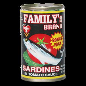 Family Sardines Bonus Pack In Tomato Sauce 155g