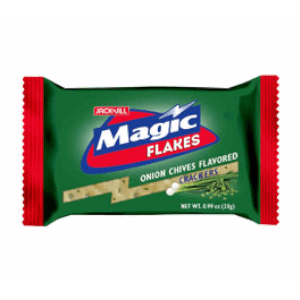 Jack N Jill Magic Flakes Onion Chives Flavored Cracker 10s