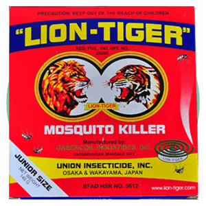 Lion Tiger Mosquito Killer Coil Junior Size