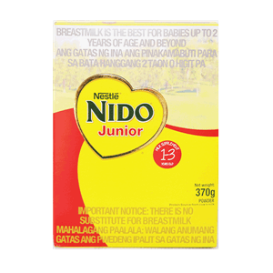 Nido Junior 1 To 3 Years Old 370g