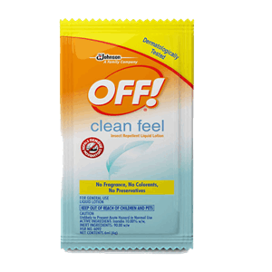 Off Lotion Clean Feel 6ml