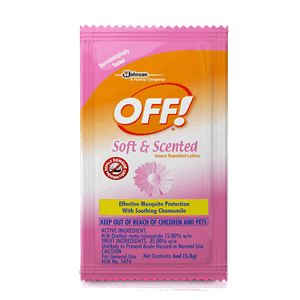 Off Lotion Soft And Scented 6ml