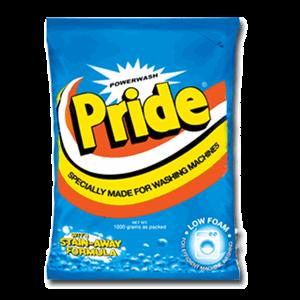 Pride Powder Power Wash 1kg