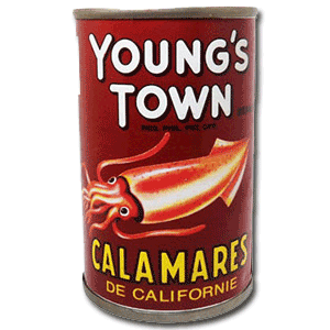 Youngs Town Squid 155g